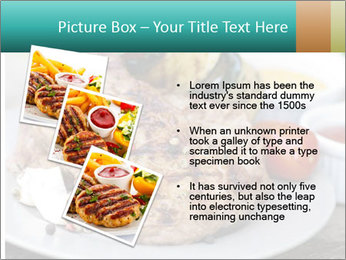Barbecue, steak PowerPoint Template - Slide 17