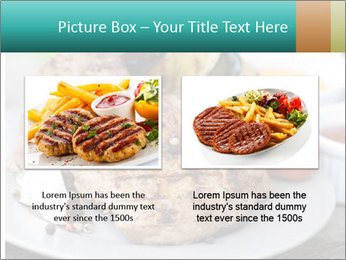 Barbecue, steak PowerPoint Template - Slide 18