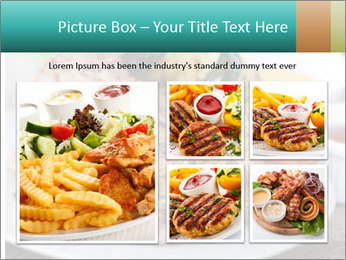 Barbecue, steak PowerPoint Template - Slide 19