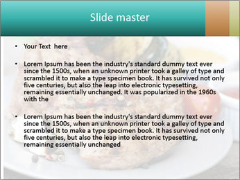 Barbecue, steak PowerPoint Template - Slide 2