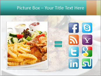 Barbecue, steak PowerPoint Template - Slide 21