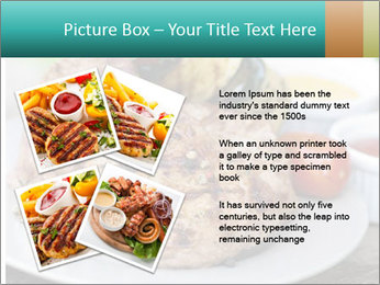 Barbecue, steak PowerPoint Template - Slide 23