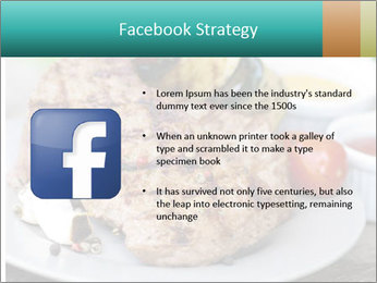 Barbecue, steak PowerPoint Template - Slide 6