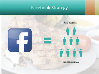 Barbecue, steak PowerPoint Template - Slide 7