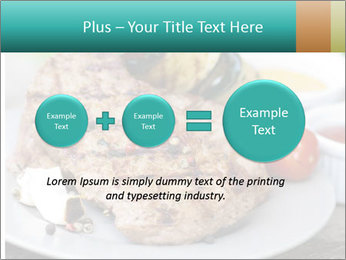Barbecue, steak PowerPoint Template - Slide 75