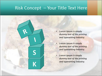Barbecue, steak PowerPoint Template - Slide 81