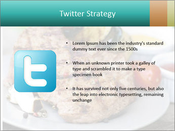 Barbecue, steak PowerPoint Template - Slide 9