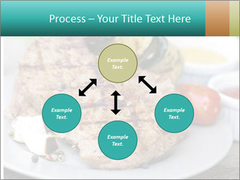 Barbecue, steak PowerPoint Template - Slide 91