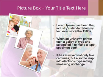 Woman painting PowerPoint Templates - Slide 17