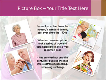 Woman painting PowerPoint Templates - Slide 24
