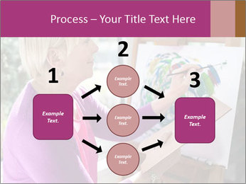 Woman painting PowerPoint Templates - Slide 92