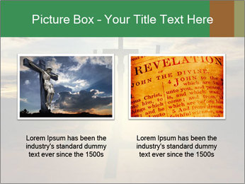 Еhree easter crosses PowerPoint Template - Slide 18