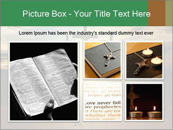 Еhree easter crosses PowerPoint Template - Slide 19