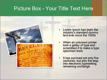 Еhree easter crosses PowerPoint Template - Slide 20