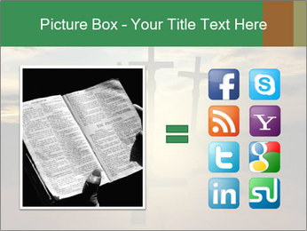 Еhree easter crosses PowerPoint Template - Slide 21