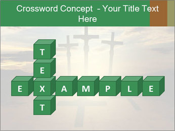 Еhree easter crosses PowerPoint Template - Slide 82