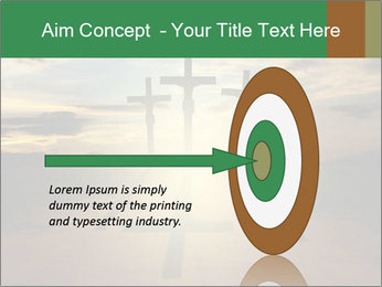 Еhree easter crosses PowerPoint Template - Slide 83