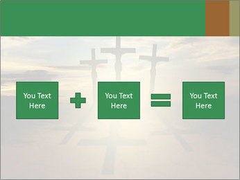 Еhree easter crosses PowerPoint Template - Slide 95