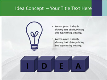 Rain PowerPoint Templates - Slide 80