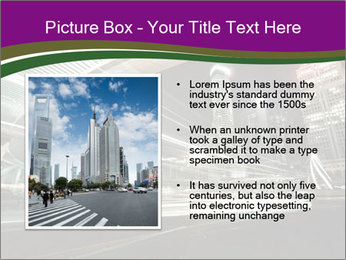 Shanghai Pudong skyline PowerPoint Template - Slide 13