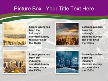 Shanghai Pudong skyline PowerPoint Template - Slide 14