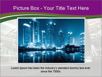 Shanghai Pudong skyline PowerPoint Template - Slide 15