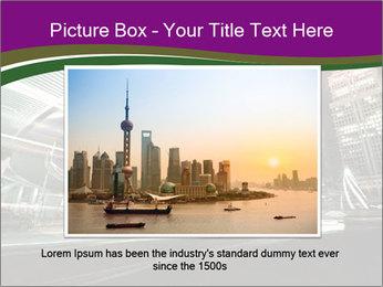 Shanghai Pudong skyline PowerPoint Template - Slide 16
