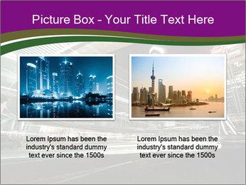 Shanghai Pudong skyline PowerPoint Template - Slide 18