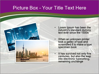Shanghai Pudong skyline PowerPoint Template - Slide 20