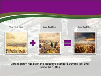 Shanghai Pudong skyline PowerPoint Template - Slide 22