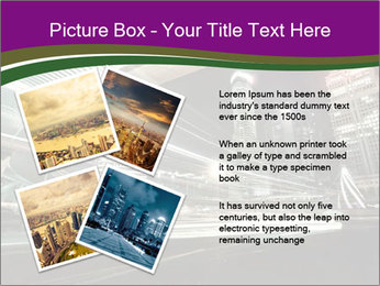 Shanghai Pudong skyline PowerPoint Template - Slide 23