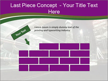 Shanghai Pudong skyline PowerPoint Template - Slide 46