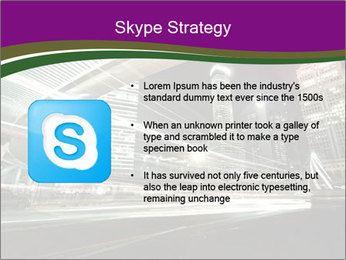 Shanghai Pudong skyline PowerPoint Template - Slide 8