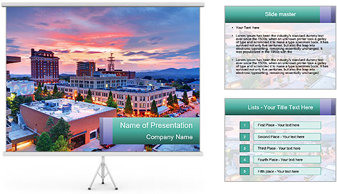 North Carolina PowerPoint Template