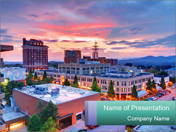 North Carolina PowerPoint Template - Slide 1