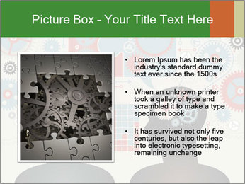 Silhouette of the brain PowerPoint Templates - Slide 13