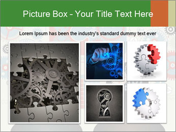 Silhouette of the brain PowerPoint Templates - Slide 19