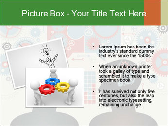 Silhouette of the brain PowerPoint Templates - Slide 20
