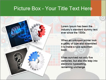 Silhouette of the brain PowerPoint Templates - Slide 23