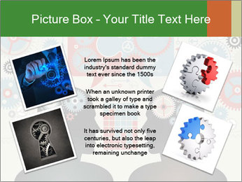 Silhouette of the brain PowerPoint Templates - Slide 24