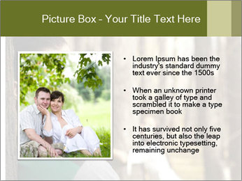Couple standing in the park PowerPoint Templates - Slide 13