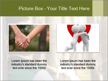 Couple standing in the park PowerPoint Templates - Slide 18