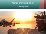 Aircraft carrier PowerPoint Template