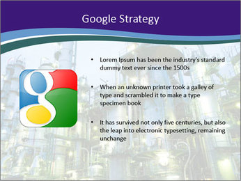 Petrochemical plant PowerPoint Template - Slide 10