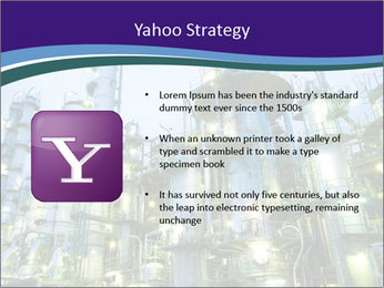 Petrochemical plant PowerPoint Template - Slide 11