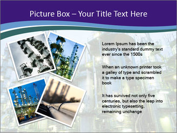 Petrochemical plant PowerPoint Template - Slide 23