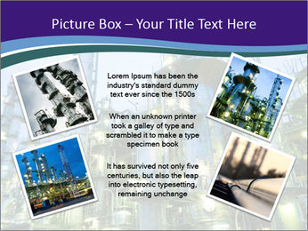 Petrochemical plant PowerPoint Template - Slide 24