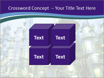 Petrochemical plant PowerPoint Template - Slide 39