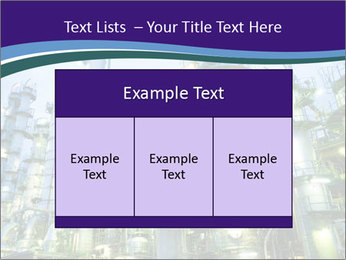 Petrochemical plant PowerPoint Template - Slide 59