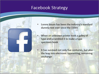 Petrochemical plant PowerPoint Template - Slide 6